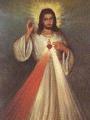 Imagen combinada con el Sagrado Corazón